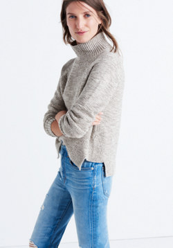 Raglan Turtleneck Sweater