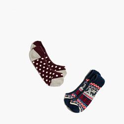 Two-Pack Llama Mix Low-Profile Socks