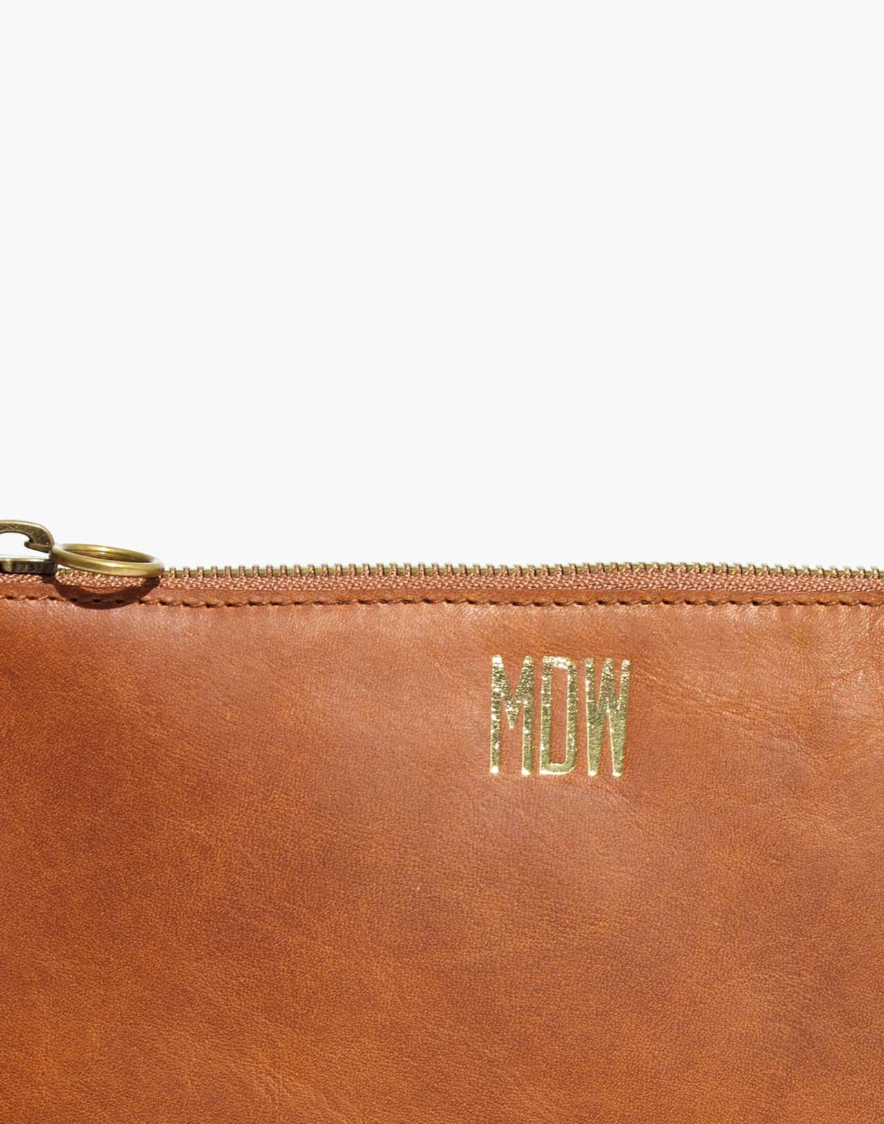 The Simple Crossbody Bag in english saddle image 4