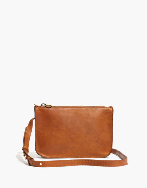 The Simple Crossbody Bag in english saddle image 1