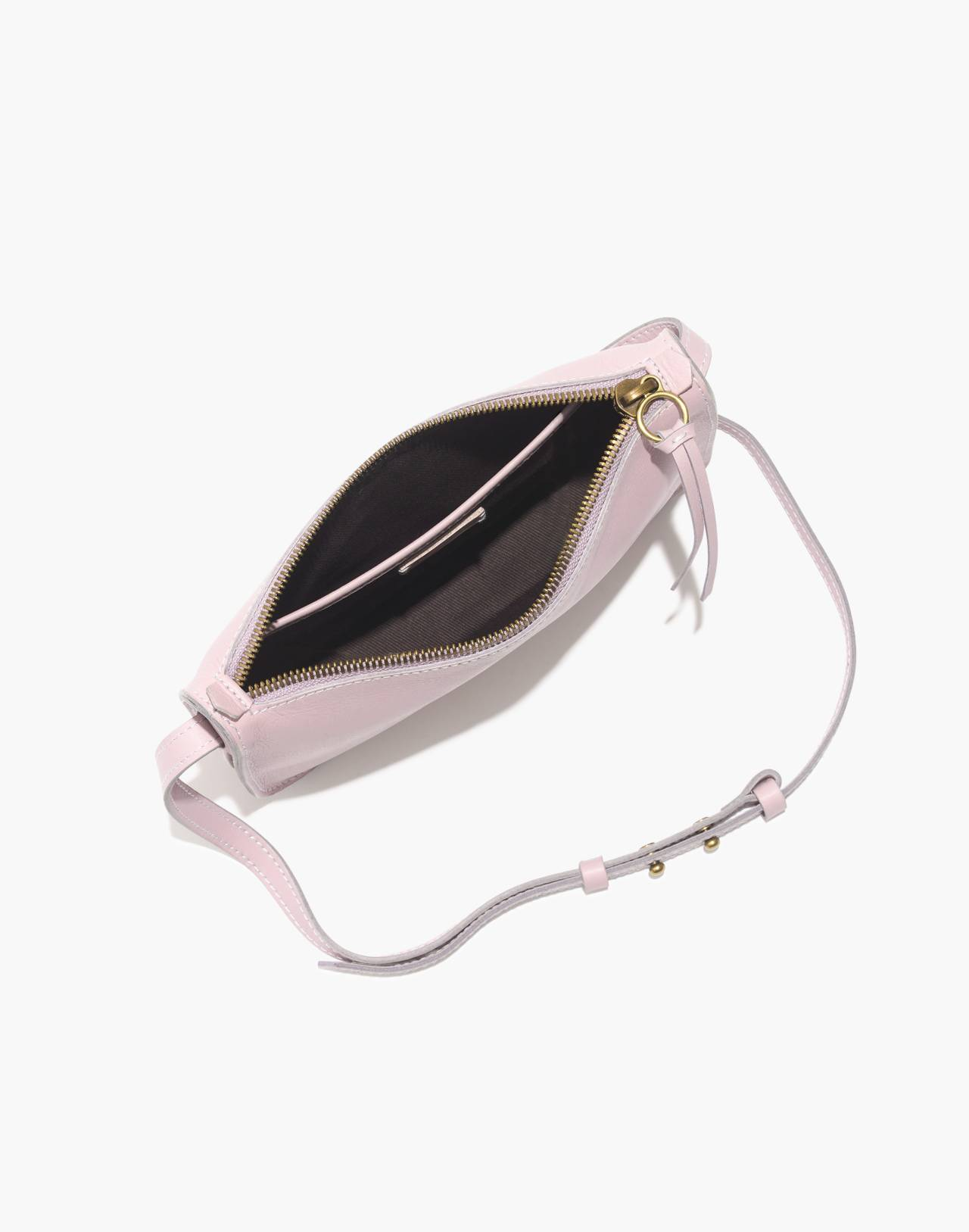 The Simple Crossbody Bag in wisteria dove image 2