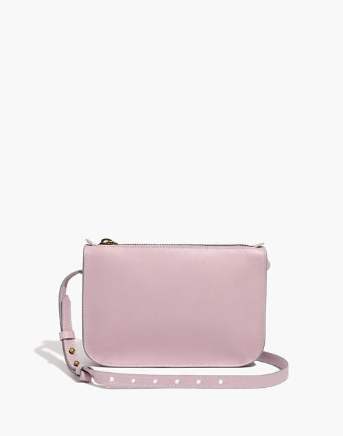 The Simple Crossbody Bag in wisteria dove image 1