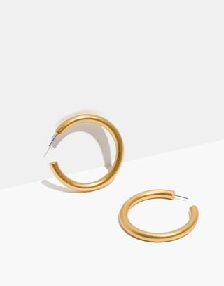 Image result for madewell hoop earrings