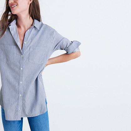 Oversized Ex-Boyfriend Shirt in Stripe