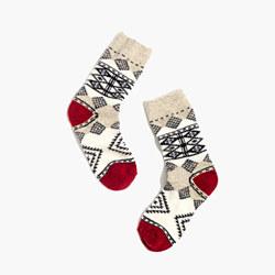 Diamond Carpet Trouser Socks