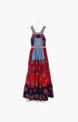 Ulla Johnson™ Lune Patchwork Apron Dress