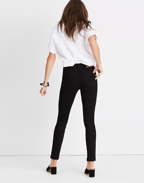 women's black jeans normal rise
