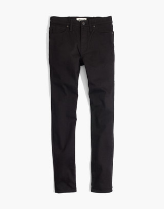 "Tall 9"" High-Rise Skinny Jeans in ISKO Stay Black™ in black frost image 4"