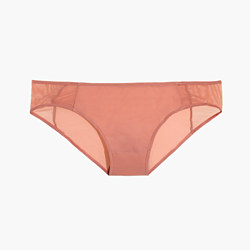 Mesh-Trimmed Bikini