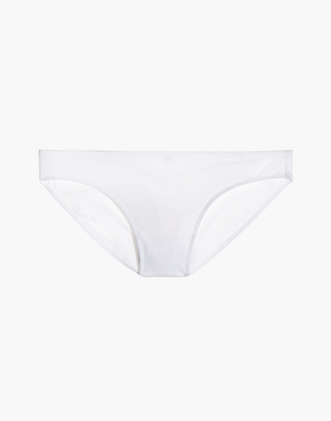 Cotton-Modal® Bikini in optic white image 1