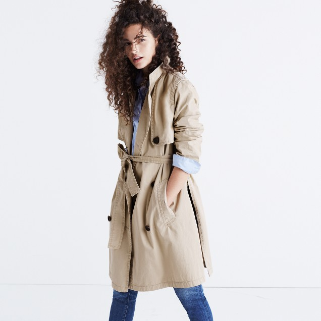 Abroad Trench Coat