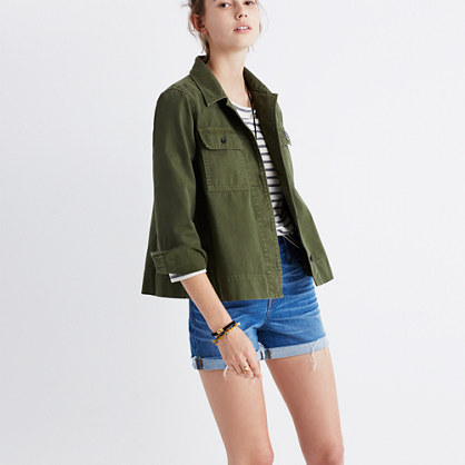 Northward Cropped Army Jacket
