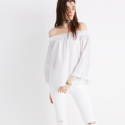 Clean Off-the-Shoulder Top