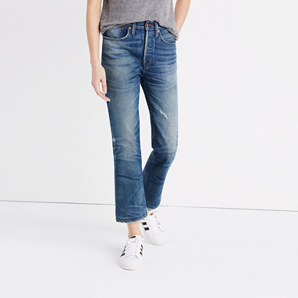 Rivet & Thread Extra-High Kick Out Jeans