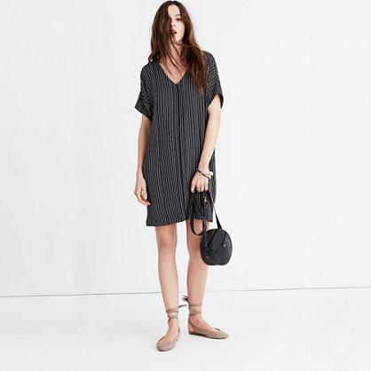 Novel Dress in Chalkboard Stripe