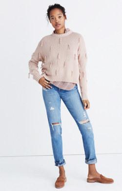 Tassel Pullover Sweater