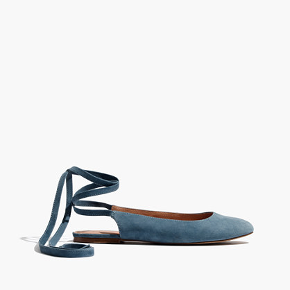The April Ankle-Wrap Flat