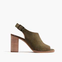 The Cary Sandal in Suede