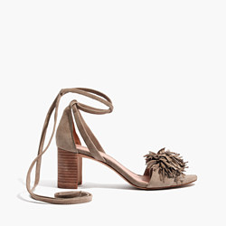 The Lainy Ankle-Wrap Sandal