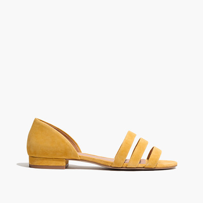 The Leila Sandal in Suede