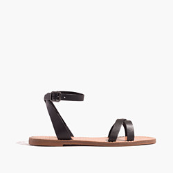 The Boardwalk Ankle-Wrap Sandal