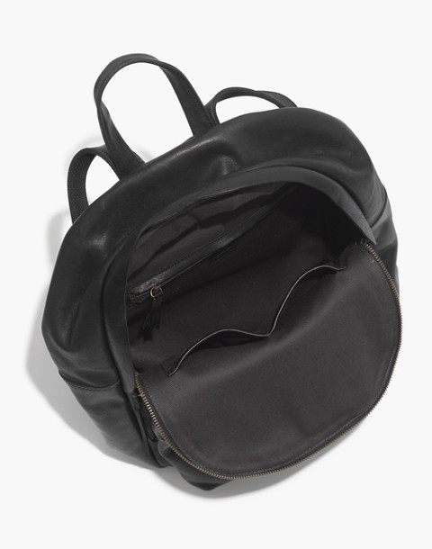 The Lorimer Backpack in true black image 2