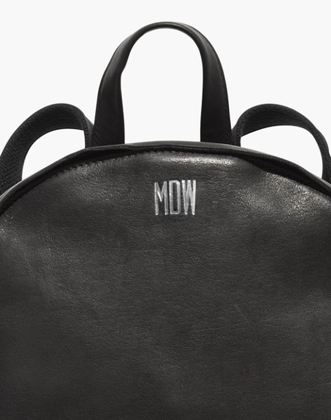 The Lorimer Backpack in true black image 3