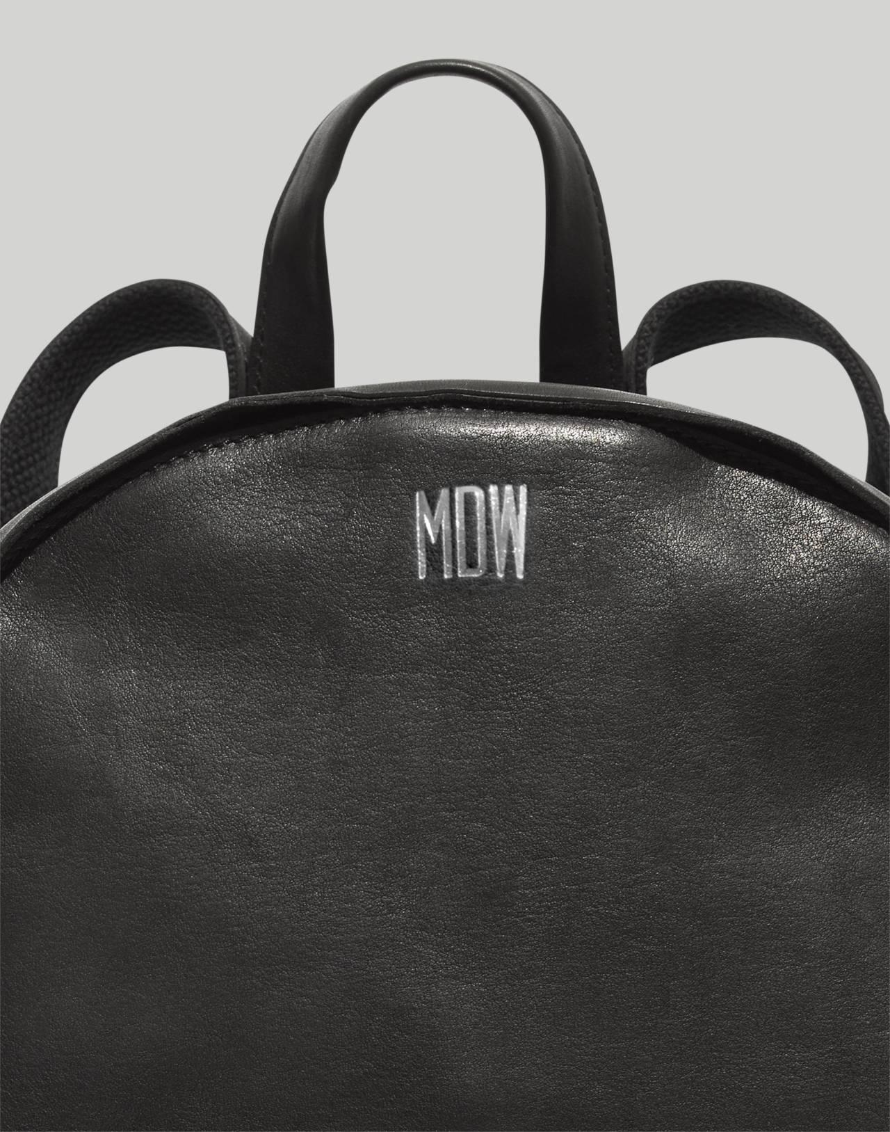 The Lorimer Backpack in true black image 3