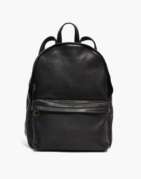 The Lorimer Backpack in true black image 1
