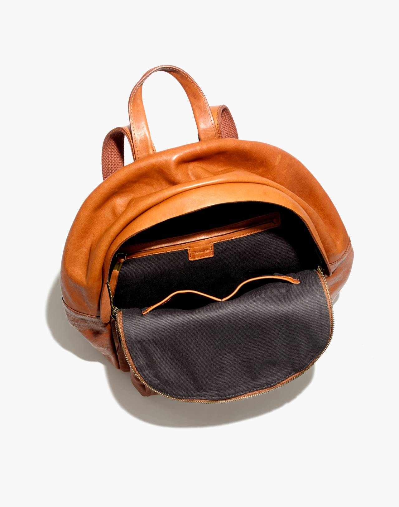The Lorimer Backpack in english saddle image 3