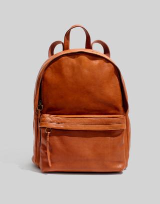 The Lorimer Backpack in english saddle image 1