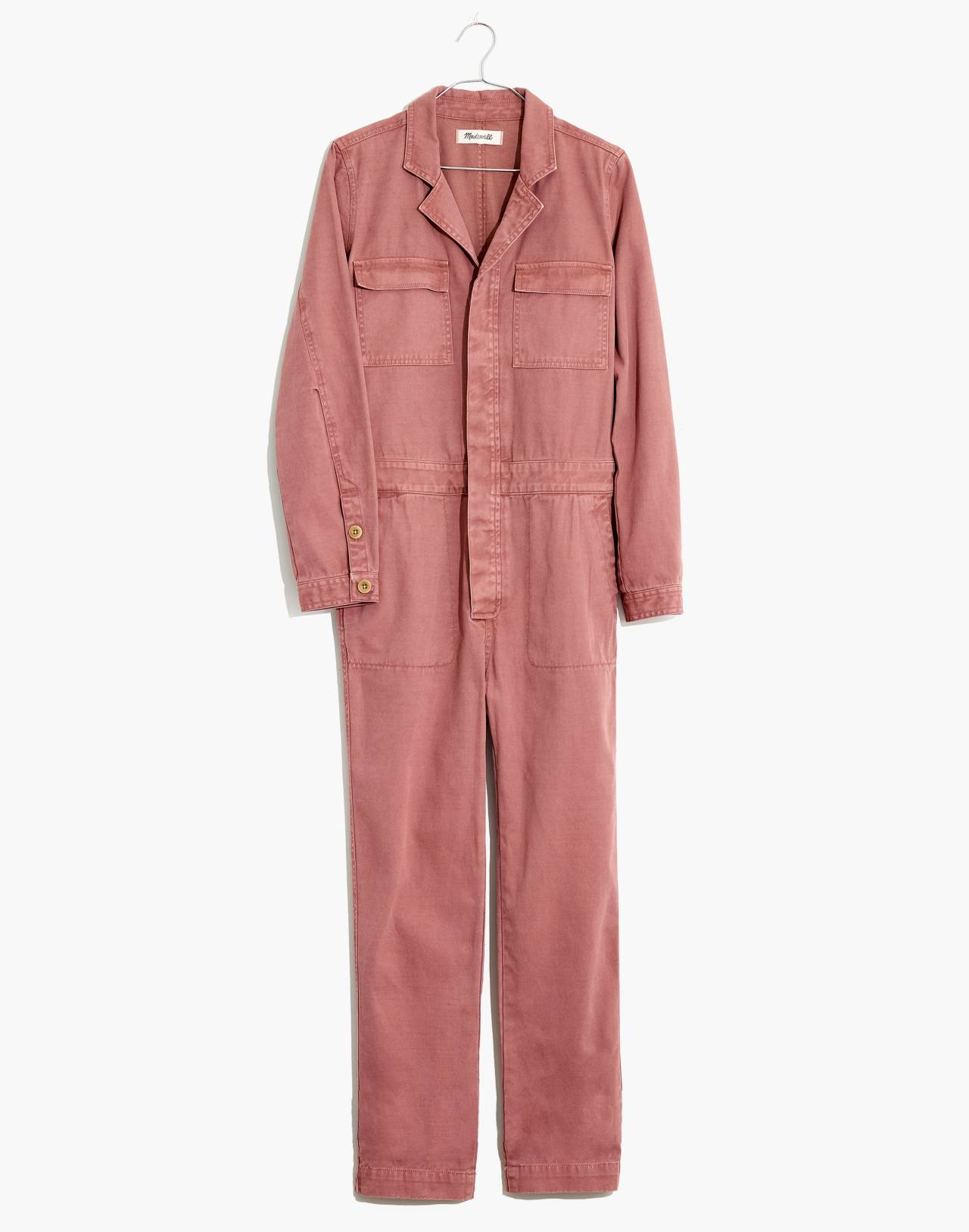 Coverall Jumpsuit in dried rosebud image 4