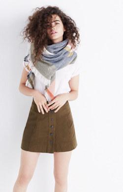 Metropolis Snap Skirt