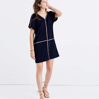 Embroidered Easy Dress
