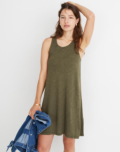 0457be9be4 Highpoint Tank Dress in hthr woodland image 1