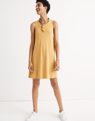 Highpoint Tank Dress in hthr gold image 2