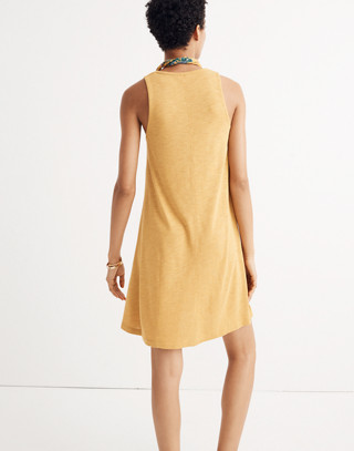 Highpoint Tank Dress in hthr gold image 3