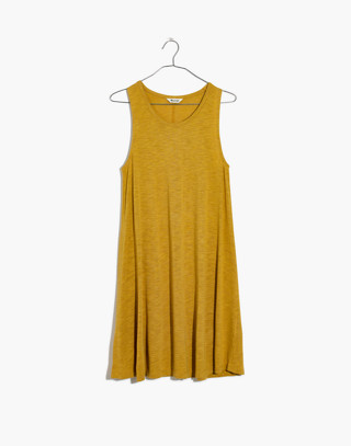 Highpoint Tank Dress in hthr gold image 4