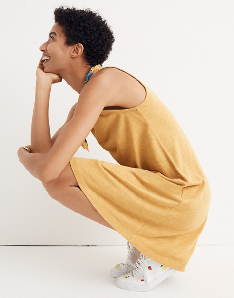 Highpoint Tank Dress in hthr gold image 1