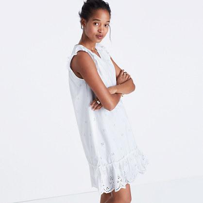 Eyelet Garden Dress