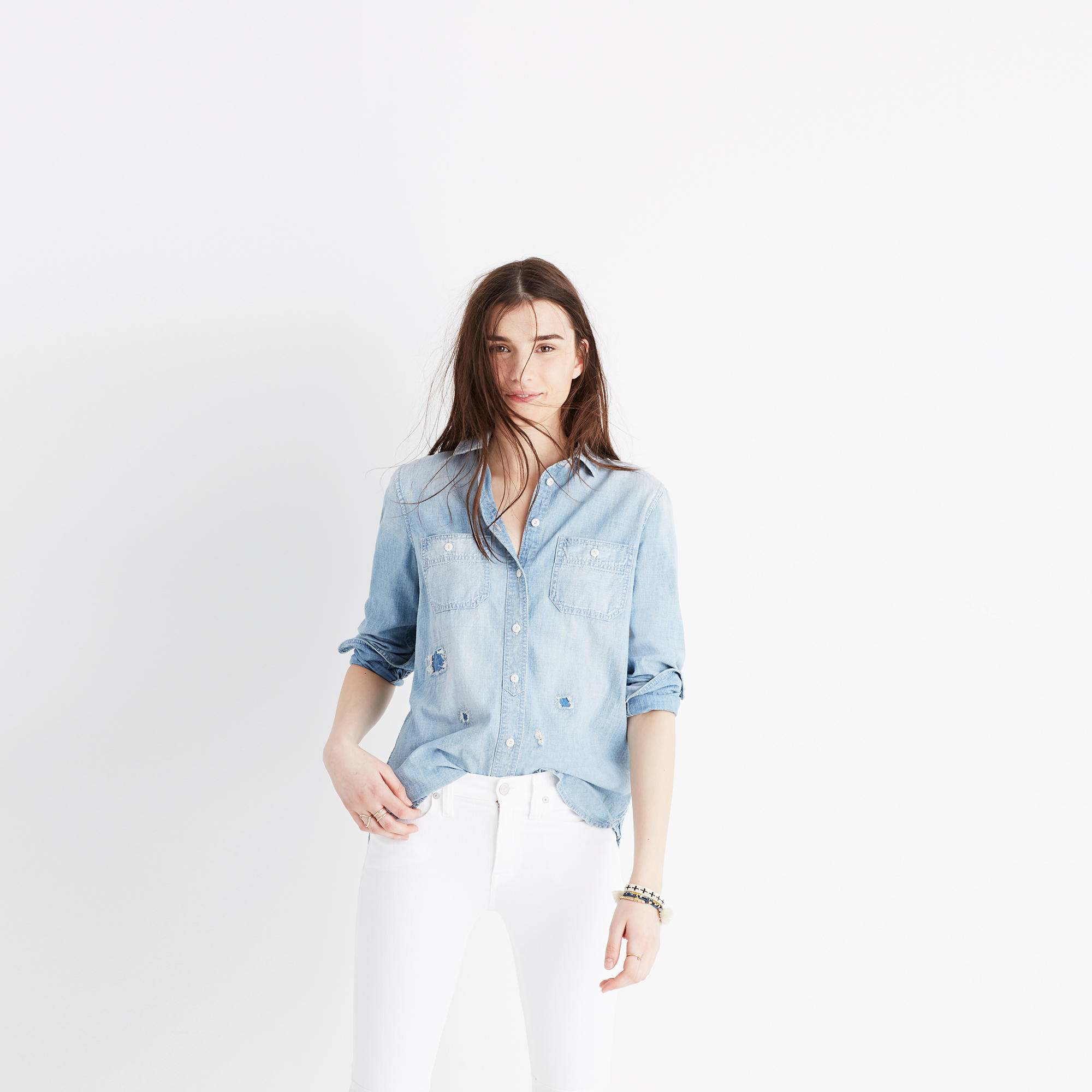 Women's Shirts & Tops : Tanks, Tees, Blouses & Chambray | Madewell.com