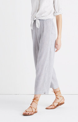 Striped Cover-Up Culottes