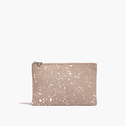 The Small Pouch Clutch: Splatter Paint Edition