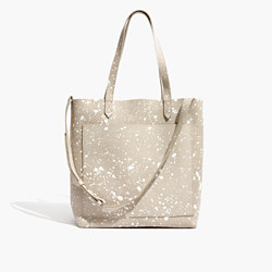 The Medium Transport Tote: Splatter Paint Edition