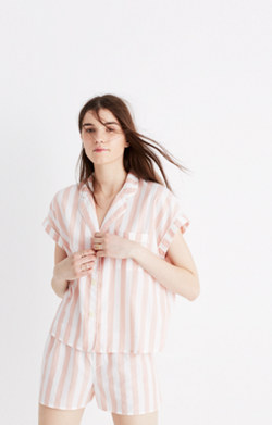 Oxford Bedtime Pajama Top