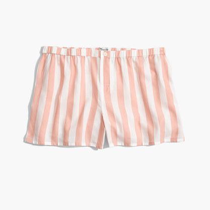 Oxford Bedtime Pajama Shorts