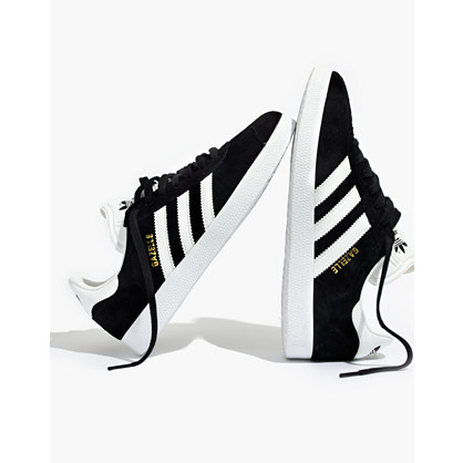 Pre-order Adidas® Gazelle® Lace-Up Sneakers in Black