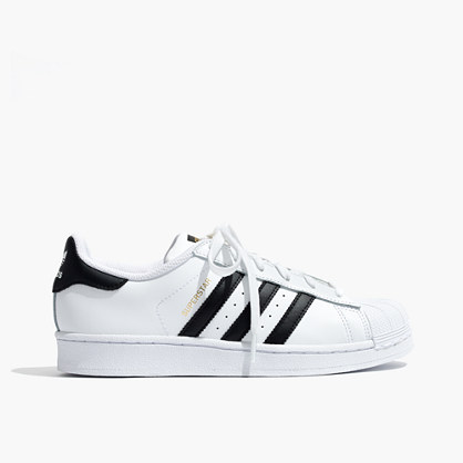 Adidas® Unisex Superstar Lace-Up Sneakers