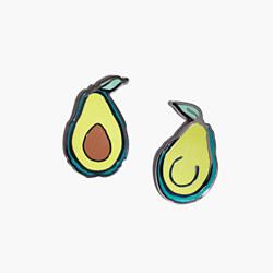 Madewell x Pintrill® Avocado Friendship Pin Set
