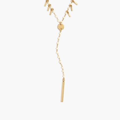 Beadlink Lariat Necklace